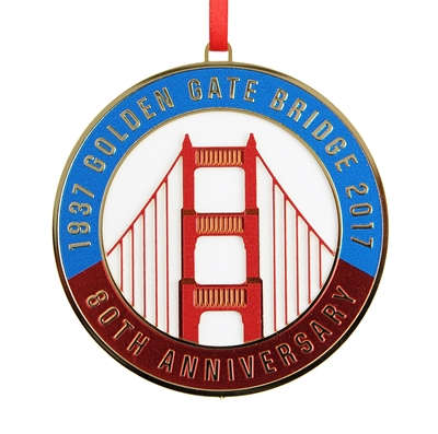 Ornament - 2017 Golden Gate Bridge