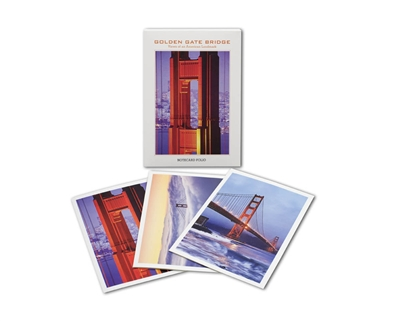 Notecard Folio - Golden Gate Bridge Views