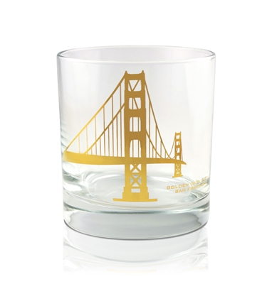 Rocks Glass - Golden Gate Bridge