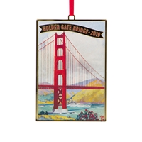 Ornament - Golden Gate Bridge 2019