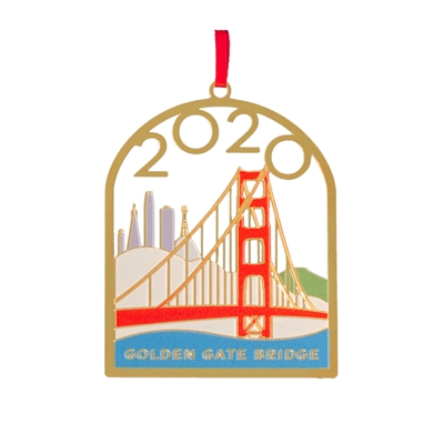 Ornament - Golden Gate Bridge 2020