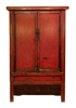 Red Black Shanxi Cabinet