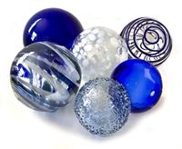 Small Assorted Glass Balls