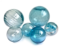 Large Assorted Glass Balls