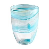 Sky Swirl Vase Medium