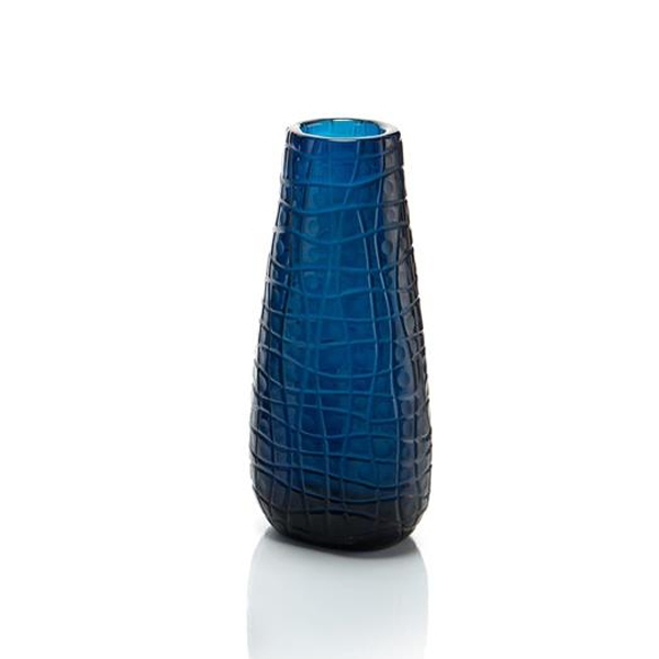 Blue Smelt Glass, Medium