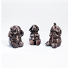 Bronze Elephants,  Set of 3
