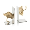 Ginkgo Leaf Bookends, Pair