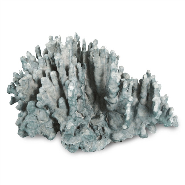 Coral Art Piece Large Blue