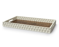Diamond Pattern Veneer Tray
