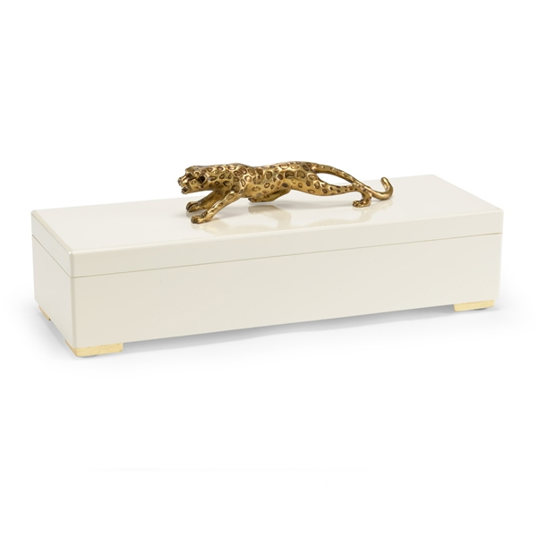 Cheetah Box - Cream