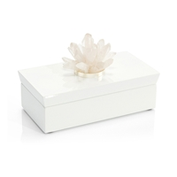 White Box with Quartz