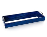 Narrow Indigo Blue Tray