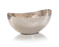 Weathered Silver Bowl