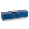 Indigo Box with Stone Topper