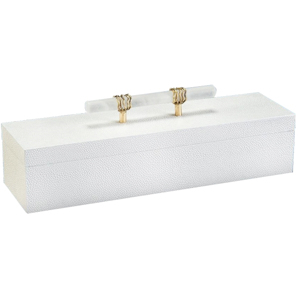 Narrow Box with Alabaster Handle