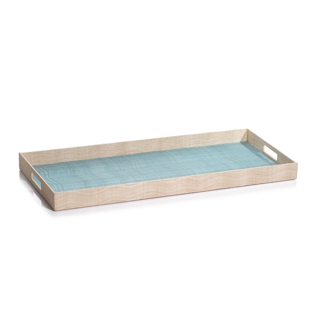 Agari Abaca Silk Rectangular Tray