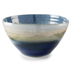 Reactive Blue & Cream Bowl, Tall