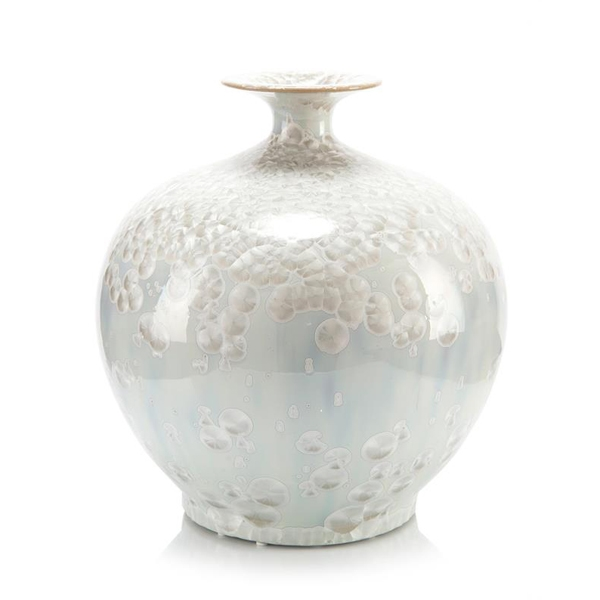 Winter White Jewel Vase Large