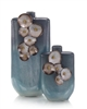 Legacy Teal Vases Small
