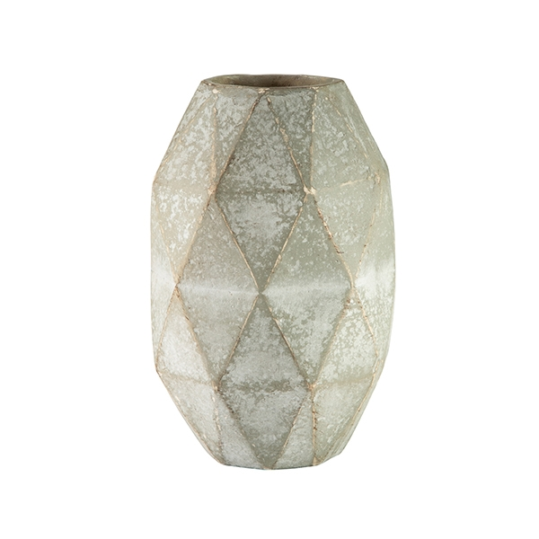 Diamond Taper Cut Vase Small