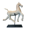 Carved Horse on Stand