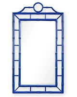 CHLOE MIRROR, NAVY BLUE
