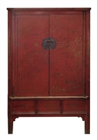 Red Chinese Cabinet
