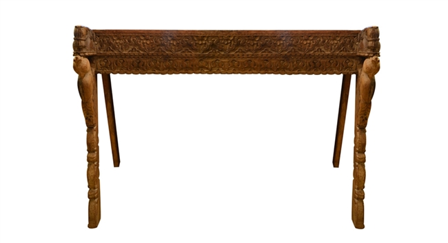 Kutch Console w/ Carved Legs