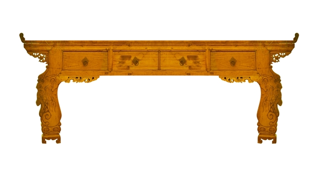 Shanxi Carved Altar Table