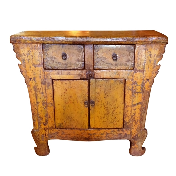 Farmhouse Chest, Mustard
