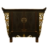 Butterfly Winged Cabinet, Mustard