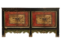 Ancient Scenes Painted Coffer