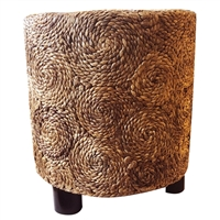 Spiral Banana Leaf Stool