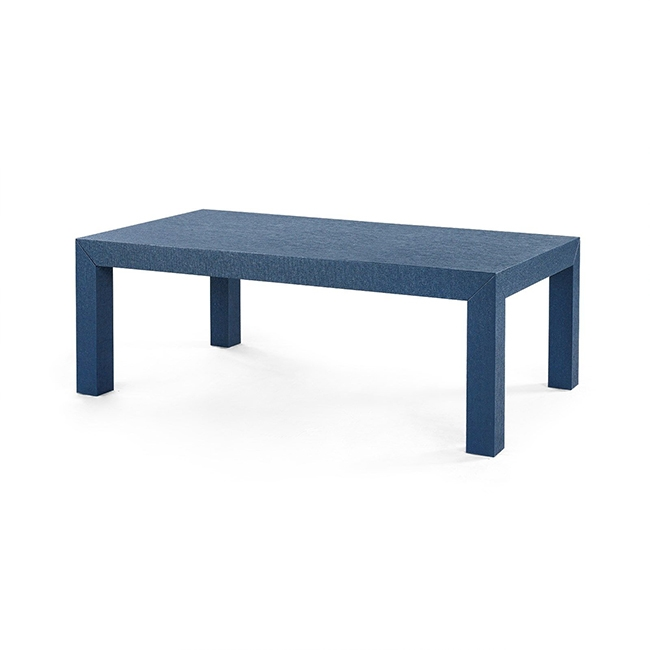 Navy Parsons Coffee Table