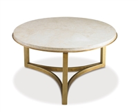 Antique Gold Niko Cocktail Table