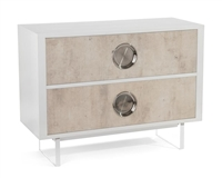 Dante Two Drawer Nite Stand