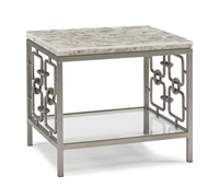 Gypsos End Table Table