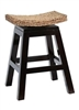 Sushi Swivel Bar Stool, Woven