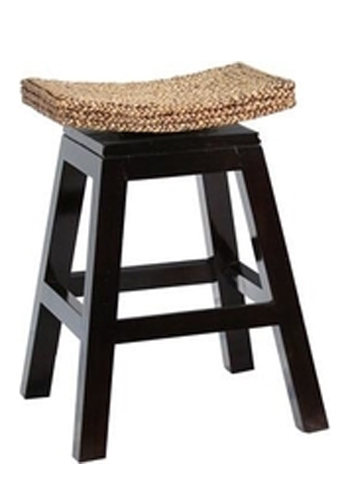 Sushi Swivel Counter Stool, Woven