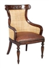 West Leather Side Chair