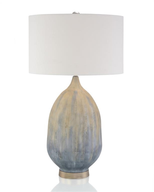 Enameled Table Lamp