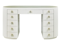 Adrienne Oval Reeded Vanity