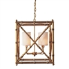 Maison Baldwin Chandelier Gold