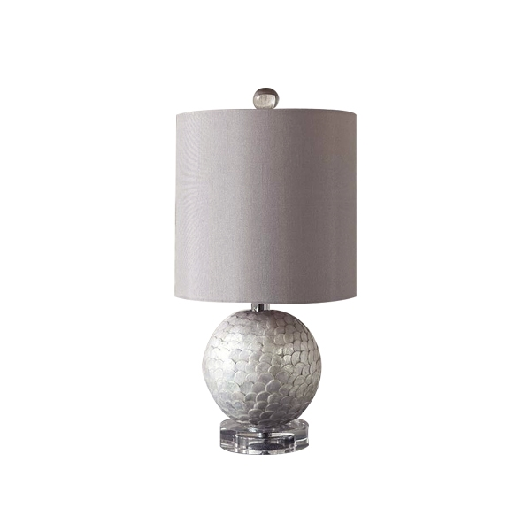 Capiz Shell Lamp