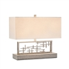 Sculptural Mid-Century Horizontal Table Lamp