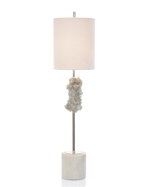 Glass Nugget Table Lamp