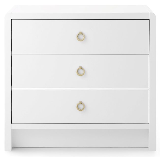 Bryant Side Table White