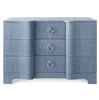 Bardot Large 3-Drawer Navy