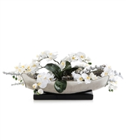 Signature White Artificial Plant